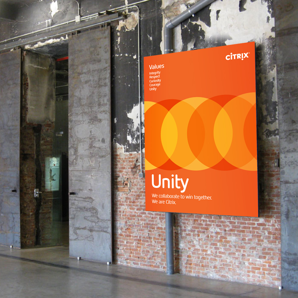 CITRIX Values posters